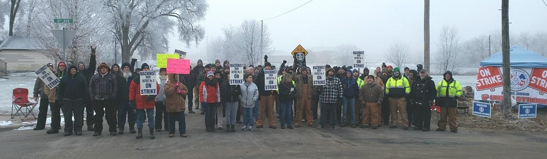 IAM Local 2068 Members on Strike at Silgan Containers in Illinois