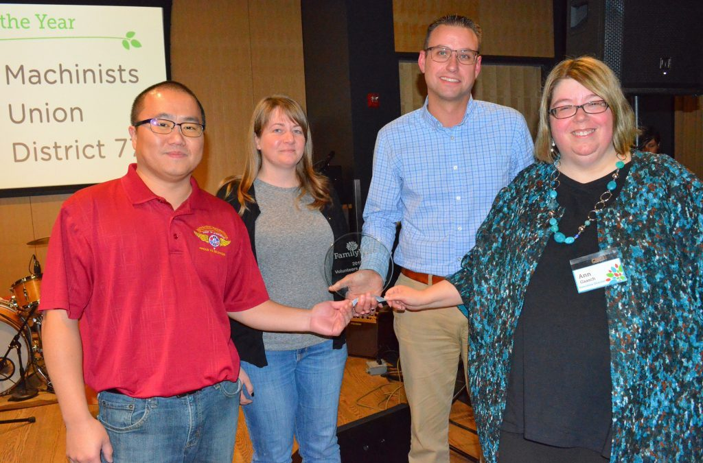 Minnesota IAM District 77 Receives 'Volunteer of the Year' Award for IAM H.E.L.P.S. Events