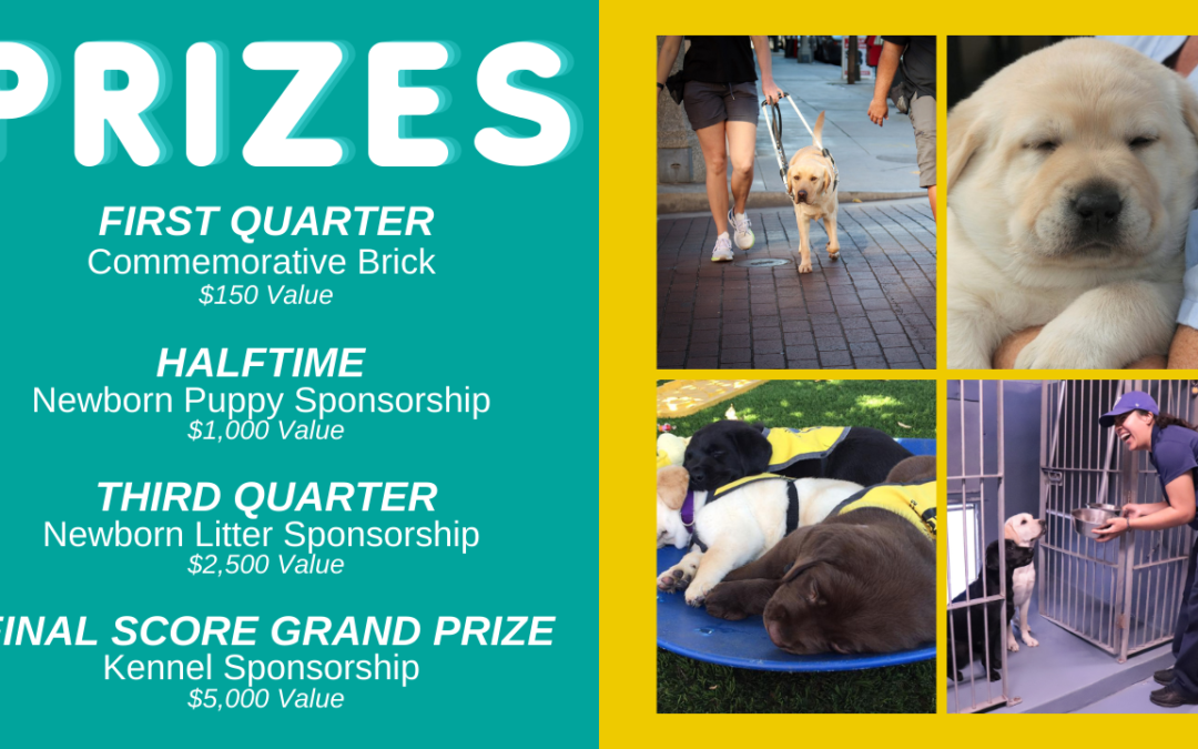 Reserve a Square in the GDA Super-Puppy Bowl